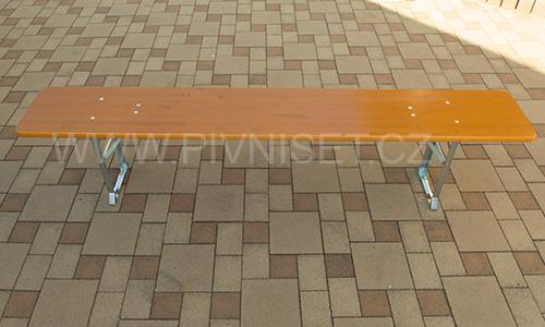 Skladací dřevěné lavice