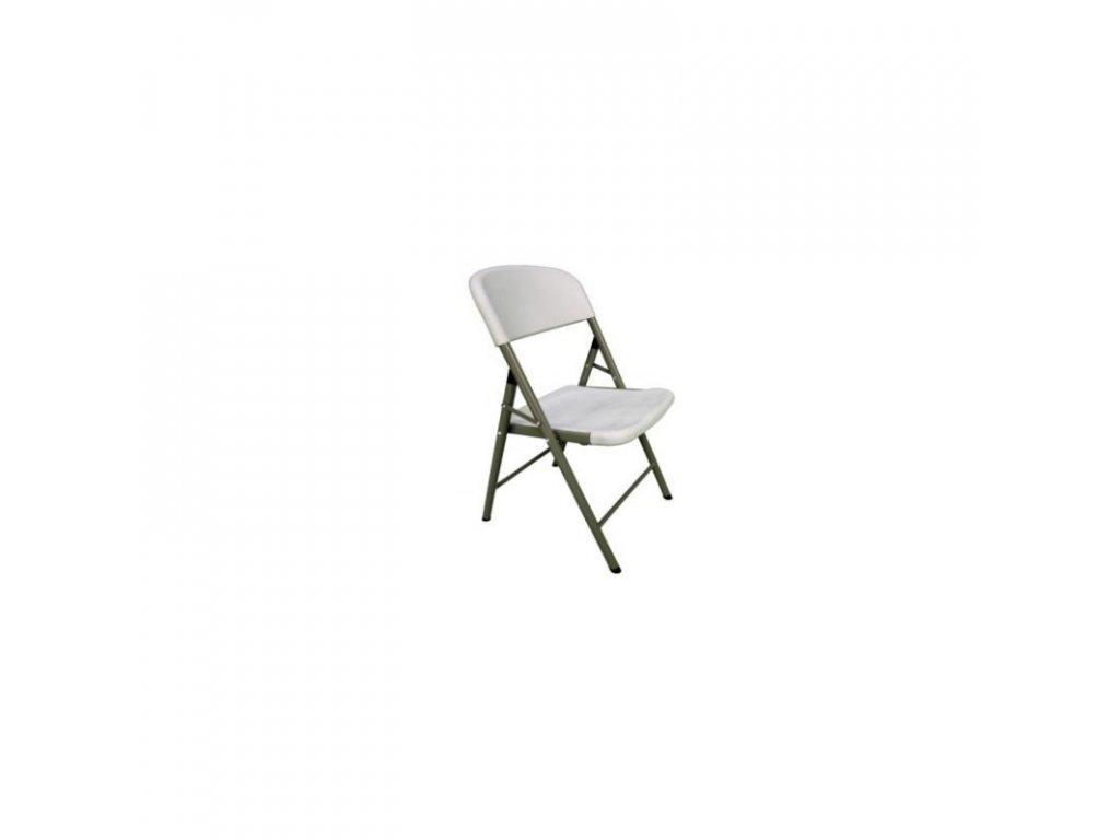 Skládací plastová židle