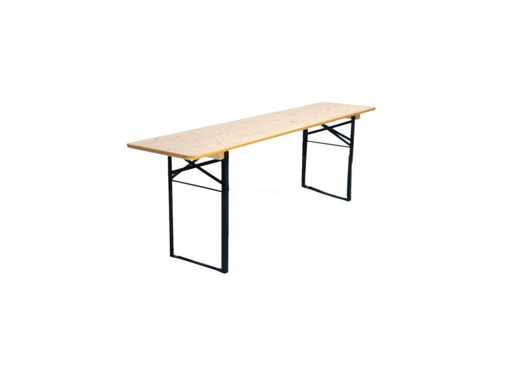 Pivní stůl 220 x 50 cm - poškozen PROFI