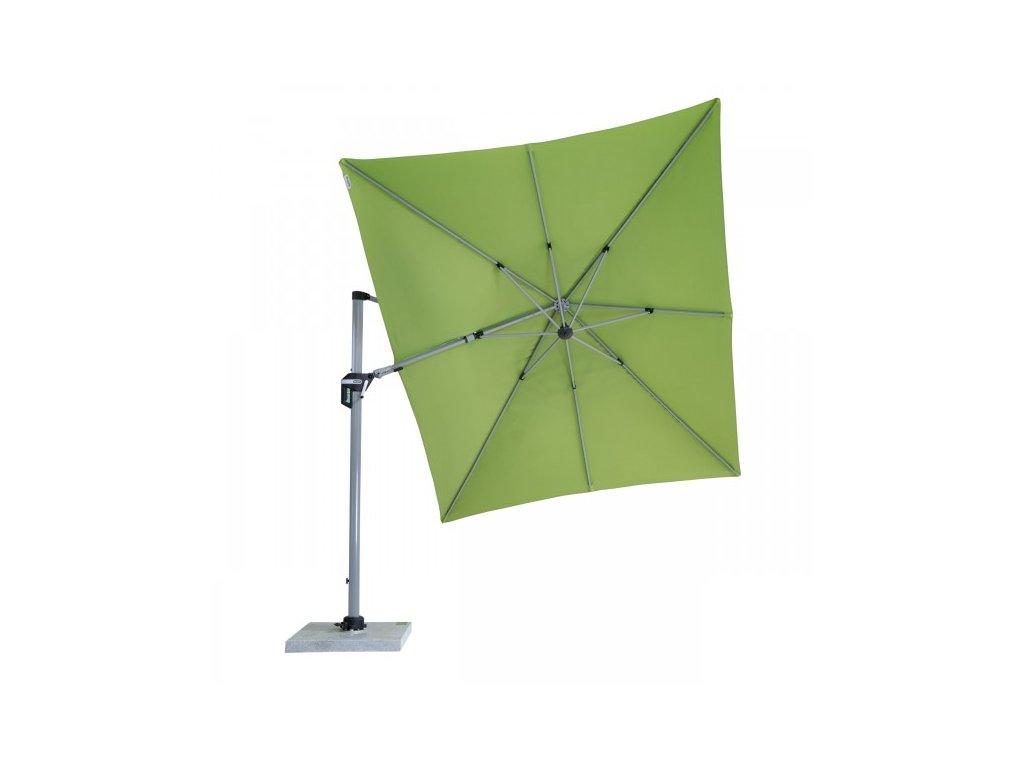 ACTIVE 3,5 x 2,6 m - výkyvný slunečník s boční tyčí (dezén látky 820)