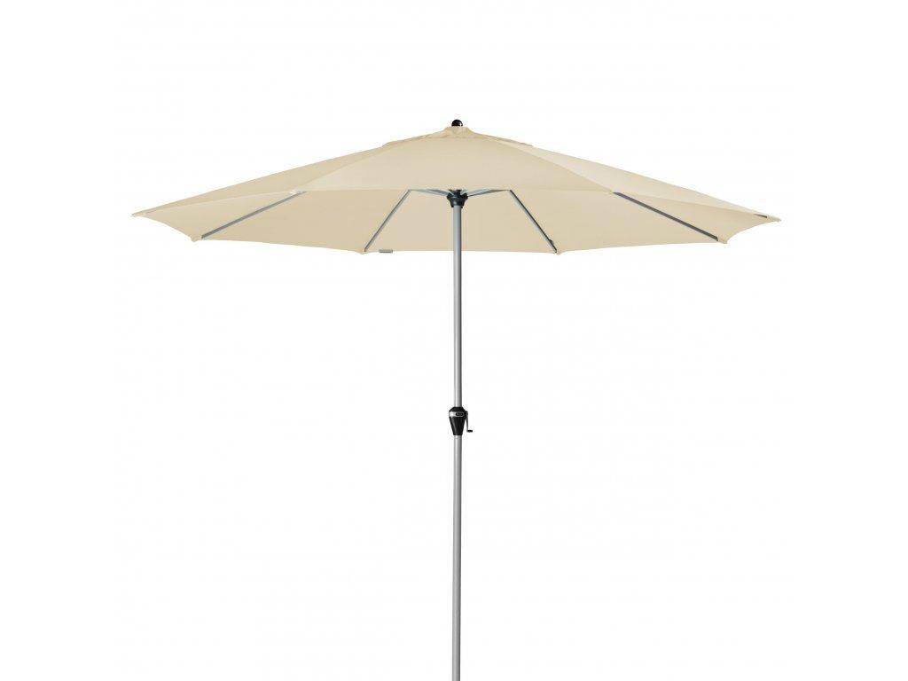ACTIVE Kurbel 380 cm - naklápěcí slunečník s klikou (dezén látky 820)