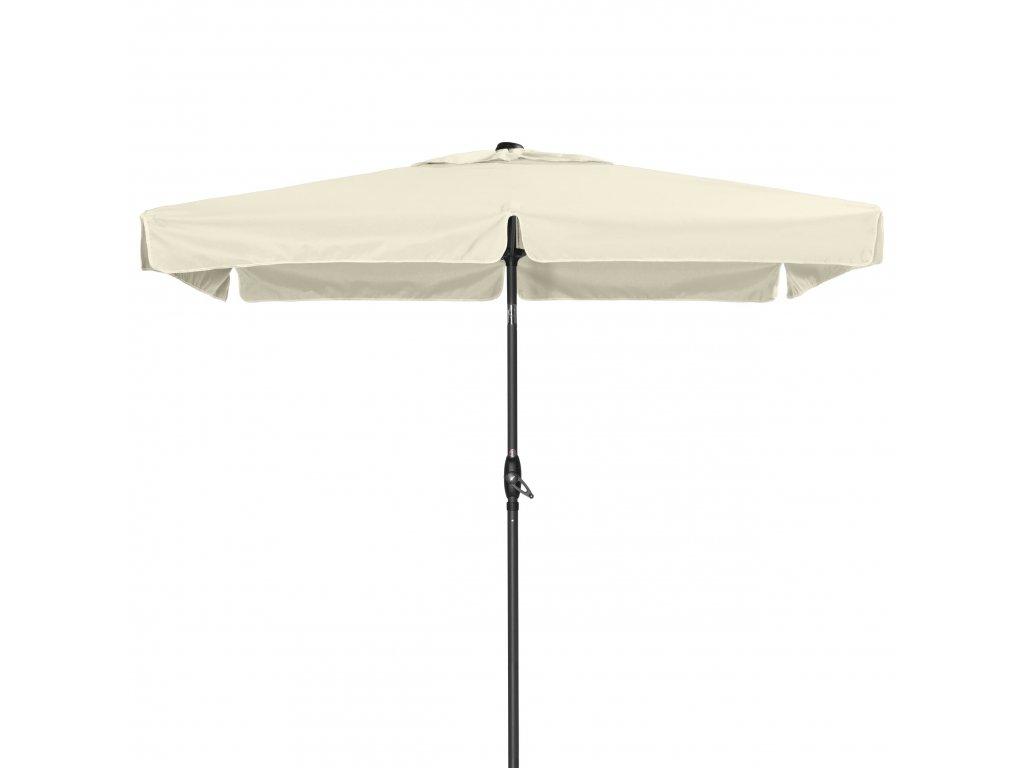 Basic Lift NEO 210 x 140 cm - naklápěcí slunečník s klikou (dezén látky 820)