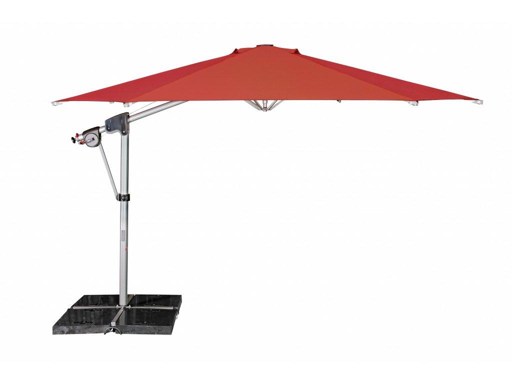 PROTECT 400P výkyvný slunečník s boční tyčí (kód barvy T820)