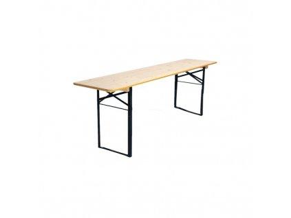 Pivní stůl 220 x 50 cm