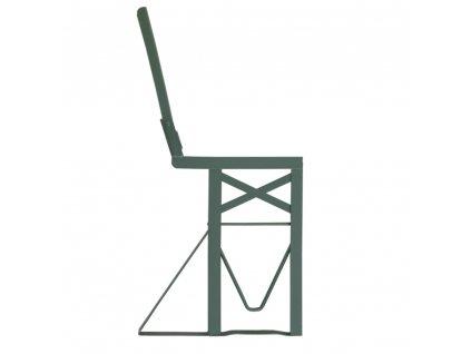 noha lavice s operadlom zelena