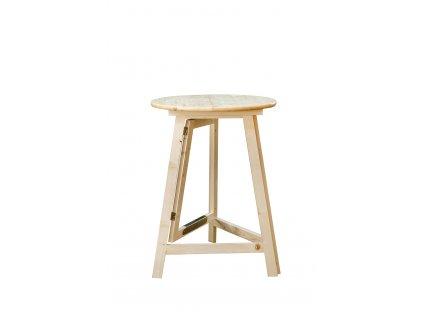 dreveny party stol 80cm 3