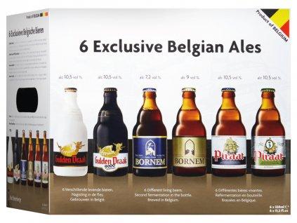 Exclusive belgian beer 6 x 033L