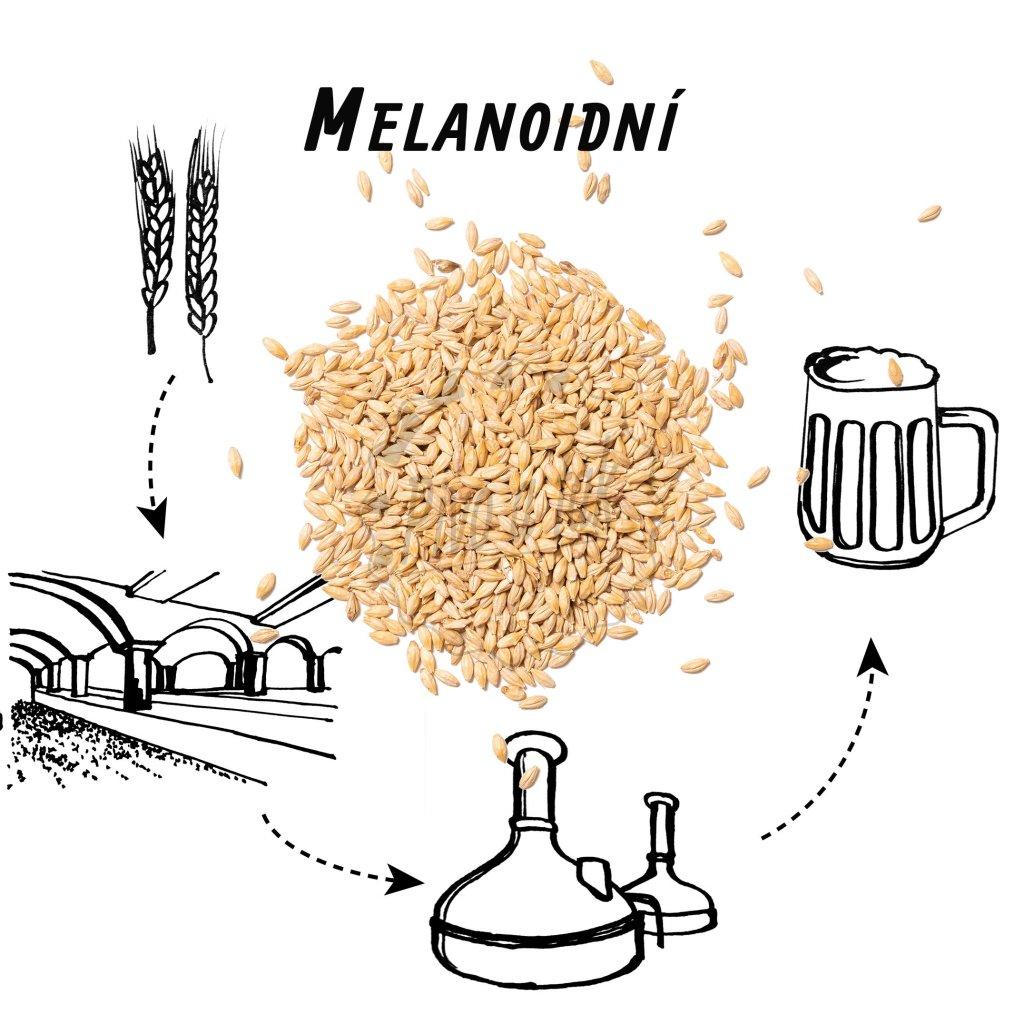 Slad BEST Melanoidin (melanoidní)