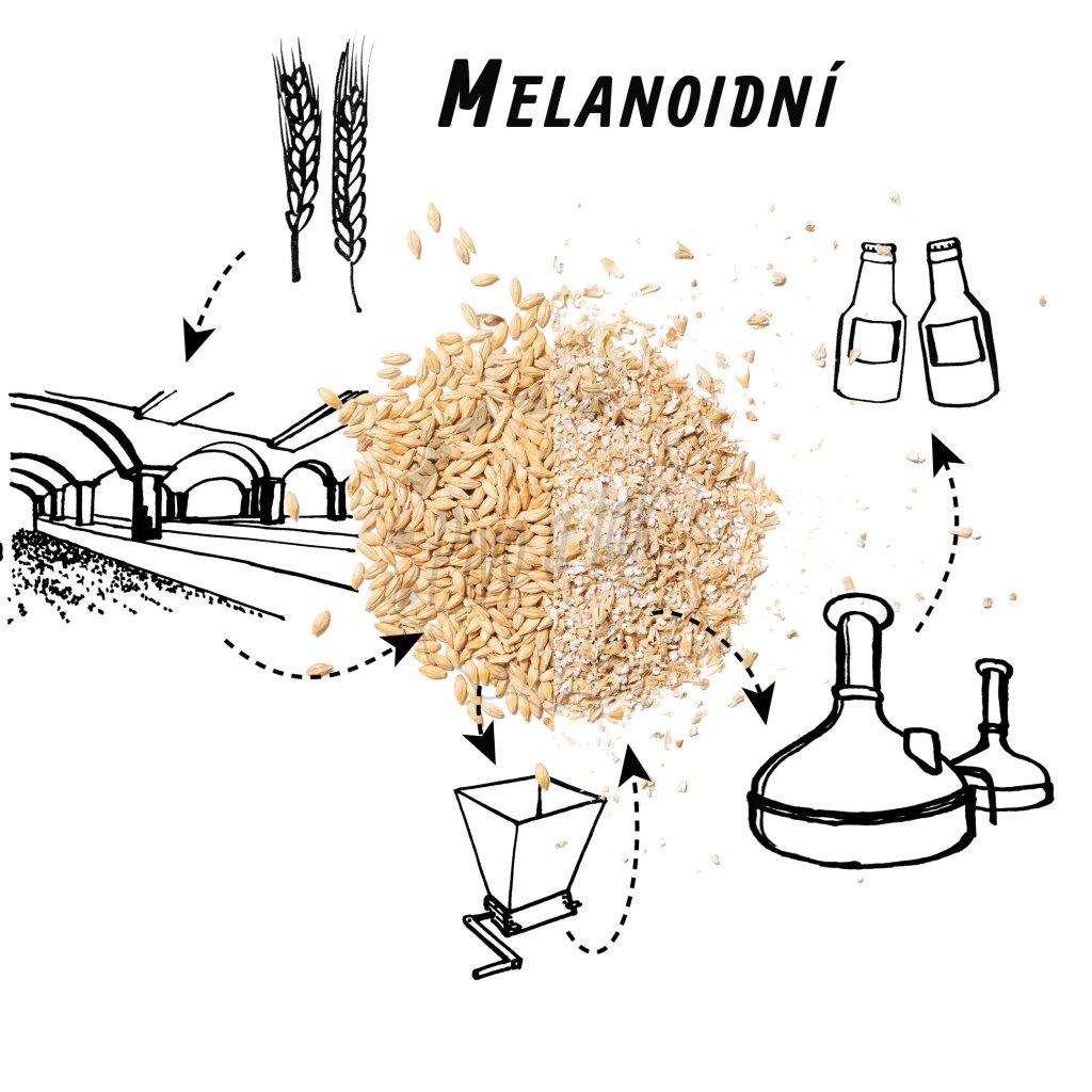 Slad BEST Melanoidin (melanoidní) ŠROTOVANÝ