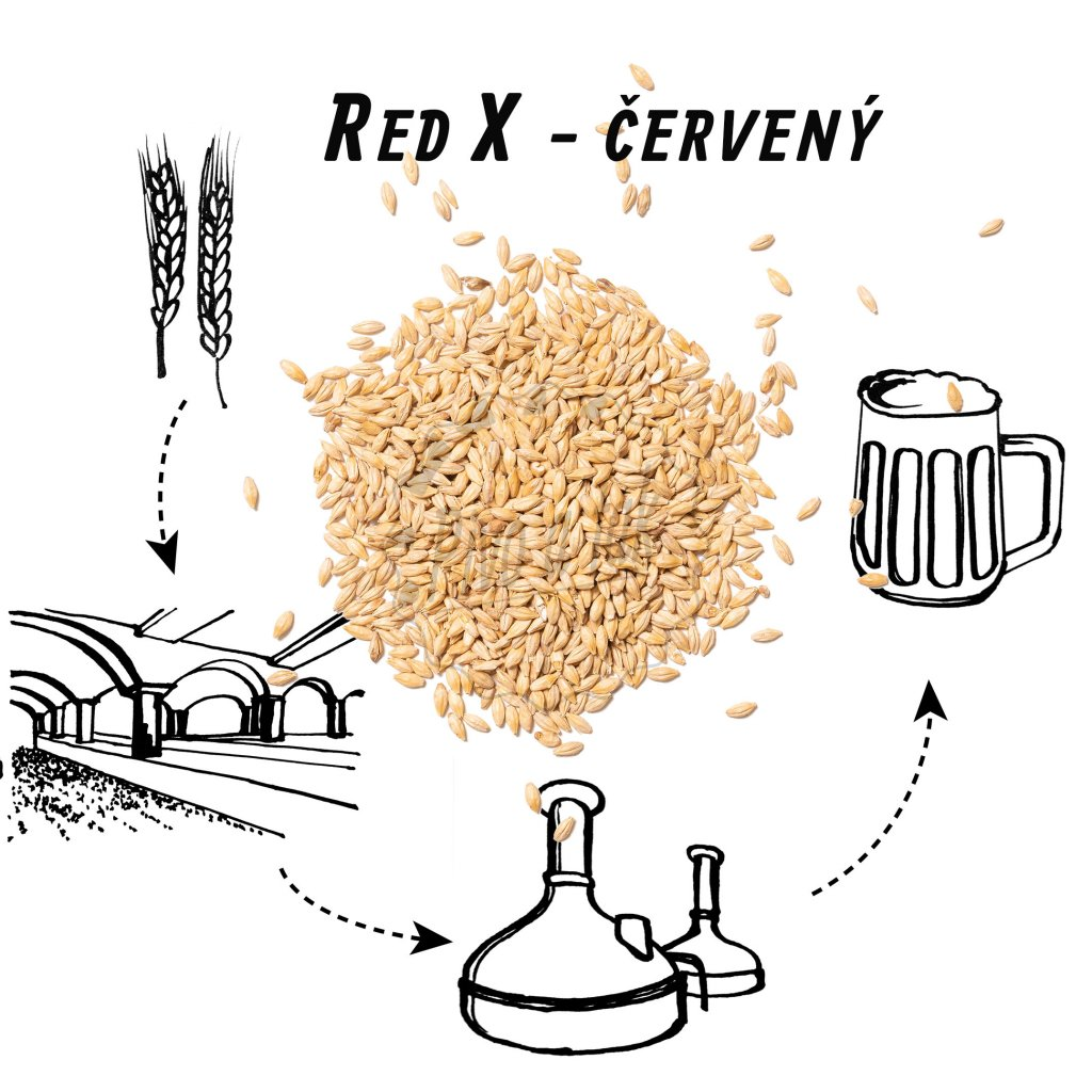 Slad BEST  Red X ®  (červený)