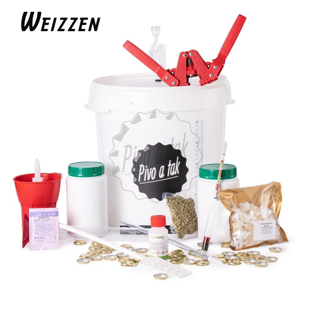 Základní sada pro vaření piva Weizzen (pšenice)