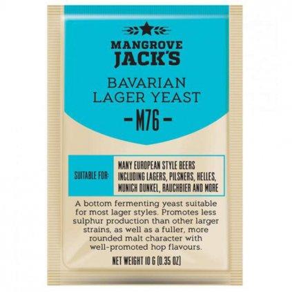 Kvasnice Mangrove Jack's Bavarian Lager M76 - 10 g