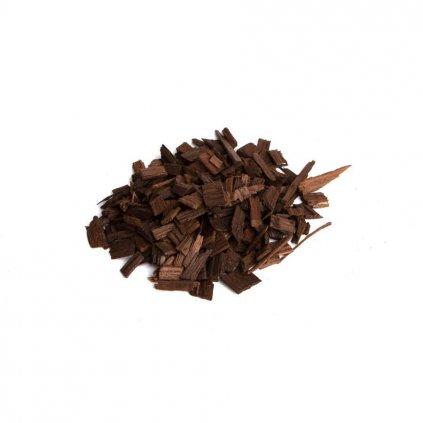 Dubové chipsy (třísky) tmavé - 50 g