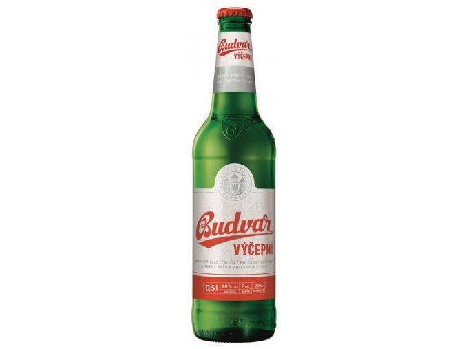 Budweiser Budvar 10% svetlé výčapné pivo 0,5l alk.4%