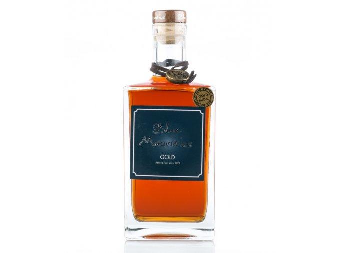 blue mauritius gold rum 07l 40