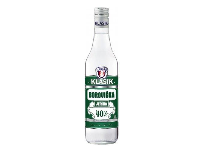 Borovička Klasik jemná 40% 0,7l