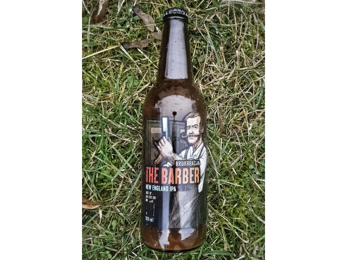 Brokreacja - The Barber 15° New England IPA 0,5l alk.5,8%
