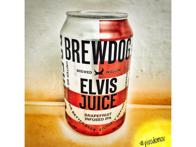 BrewDog Elvis Juice 0,33l alk.6,5%