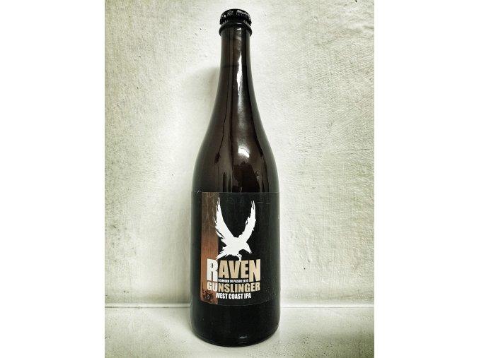 Raven Gunslinger 15° West Coast IPA 0,7l alk.6,4%