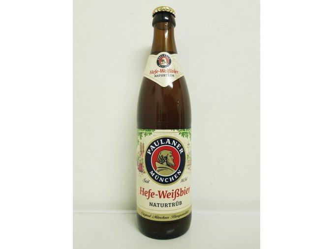 Paulaner Paulaner Hefe - Weissbier 0,5l alk.5,2%
