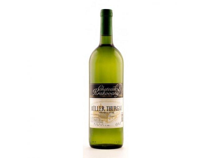 vino muller thurgau chateau krakovany biele suche 1l resized 2002 3 700 700 ffffff