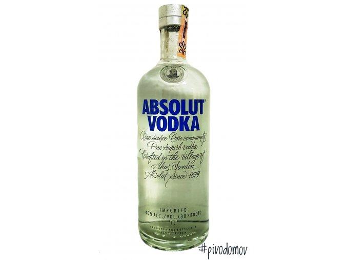 7312040017034 absolut 1l blue wodka