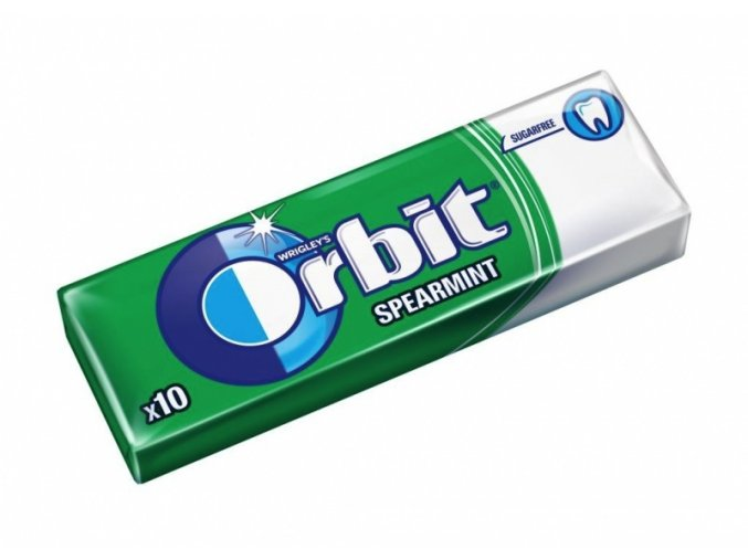 Orbit Draže 14g Spearmint