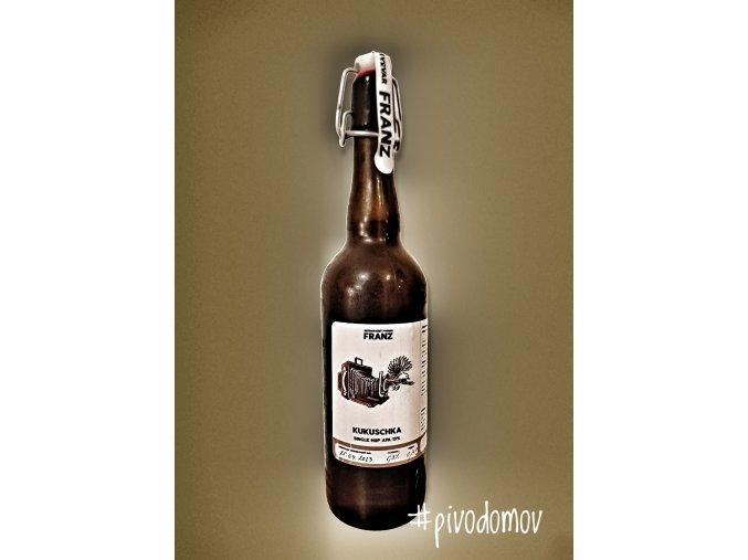 Franz Veselá vdova Black IPA 16,5% alk. 6,5%