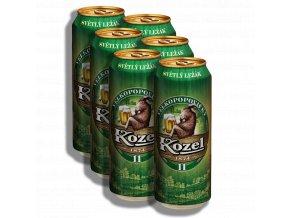 Velkopopovický Kozel 11% plech 0,5l - 6x500ml