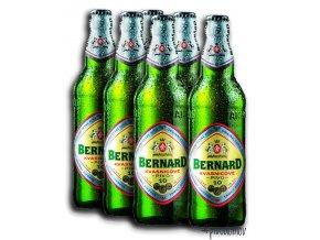 Bernard 10% svetlé výčapné 0,5l alk. 3,8% (6x0,5l)