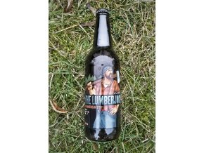 Brokreacja - The Lumberjack 16° American Rye Stout 0,5l alk.6,7%