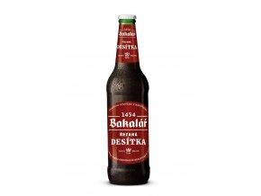 Bakalář 10% Řezaná desítka Tmavé pivo 0,5l alk.4,2%