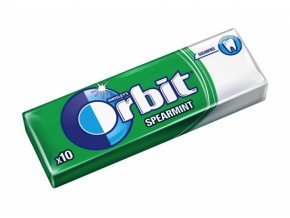 Orbit Draže 14g Spearmint
