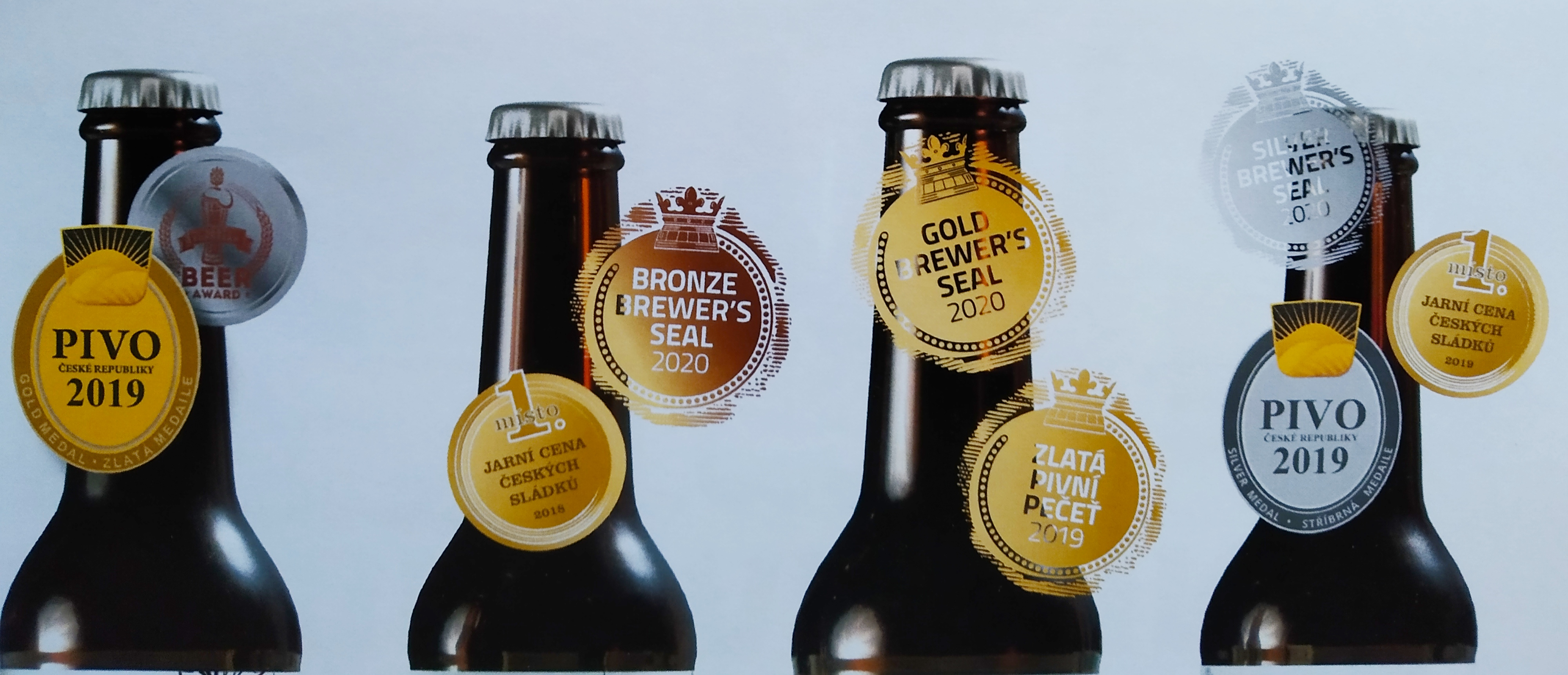 Nová (řemeslná) piva v nabídce