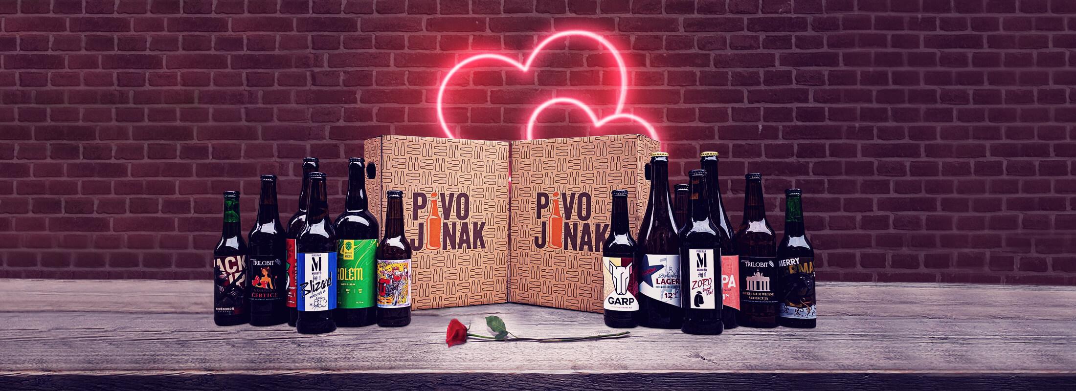 Valentýnské velké pivní předplatné