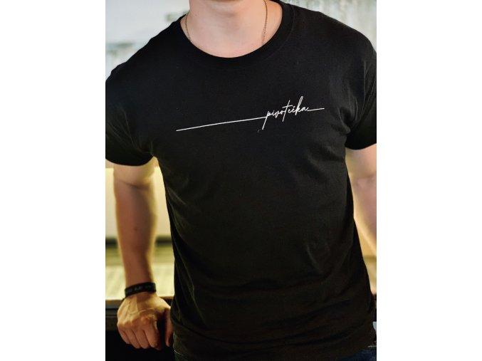Tričko pánské černé