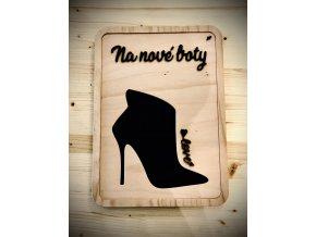 Kasička na nové boty