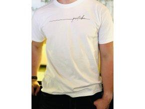Tričko pánské bílé