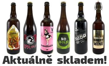 Piva aktuálně skladem | Táborská pivotéka Craft Beer