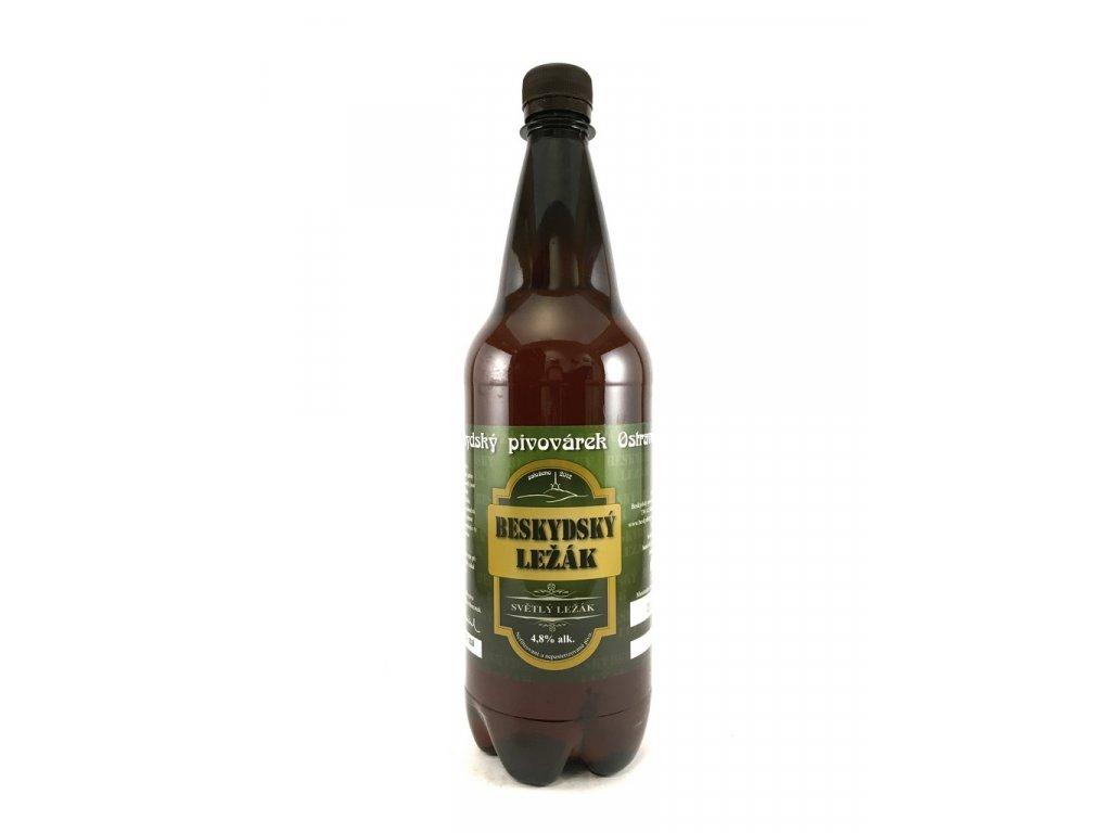 Beskydský pivovárek Ležák 11° 1l