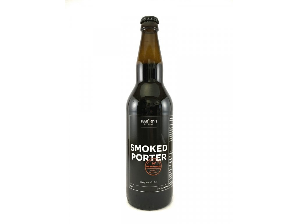 Továrna Smoked Porter 14° 0,66l