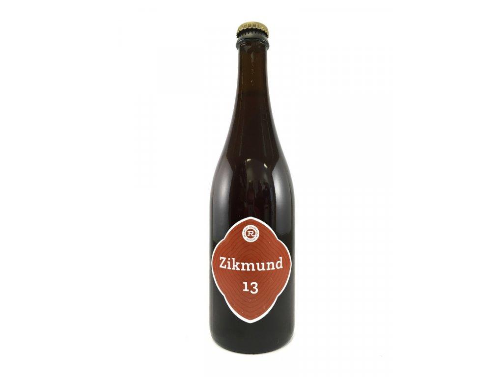 Jihlavský radniční pivovar - Zikmund 13° 0,75l