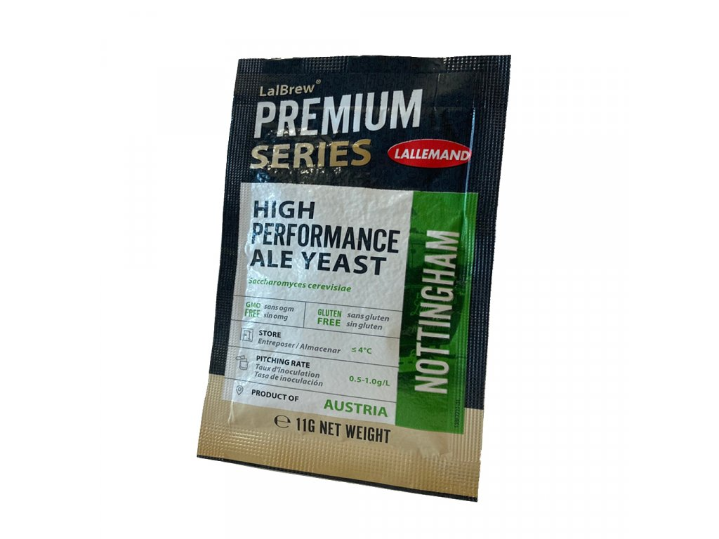LalBrew® NOTTINGHAM HIGH PERFORMANCE ALE YEAST 11g