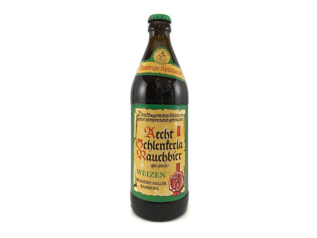 Aecht Schlenkerla Rauchbier - Weizen 0,5l