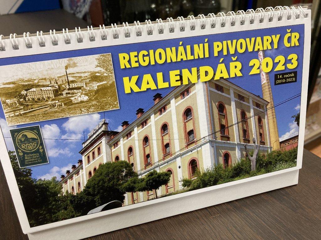 Kalendář regionálních pivovarů České Republiky 2021