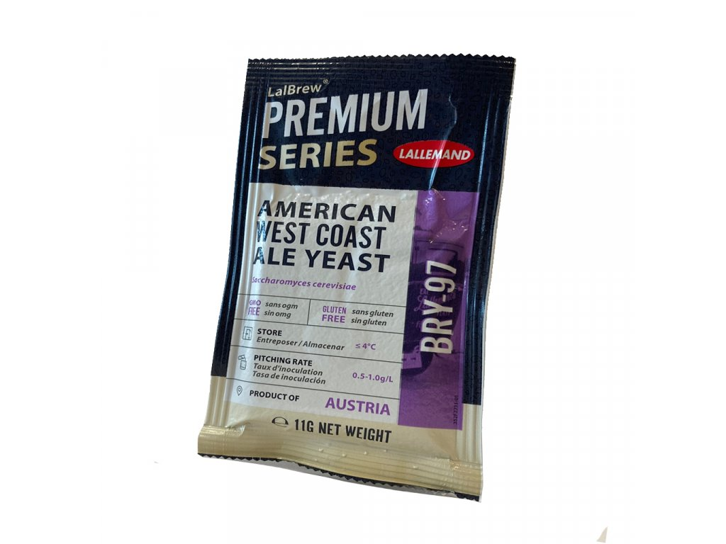 LalBrew® BRY-97 AMERICAN WEST COAST ALE YEAST 11g