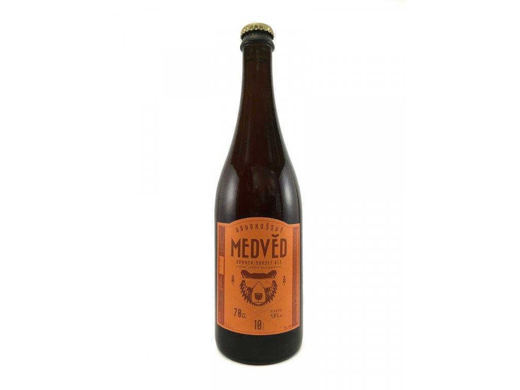 Medvěd Summer Sunset Ale 10° 0,7l