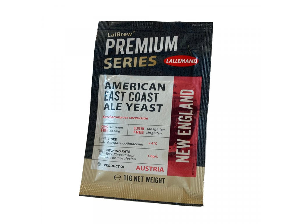 LalBrew® NEW ENGLAND EAST COAST ALE YEAST 11g