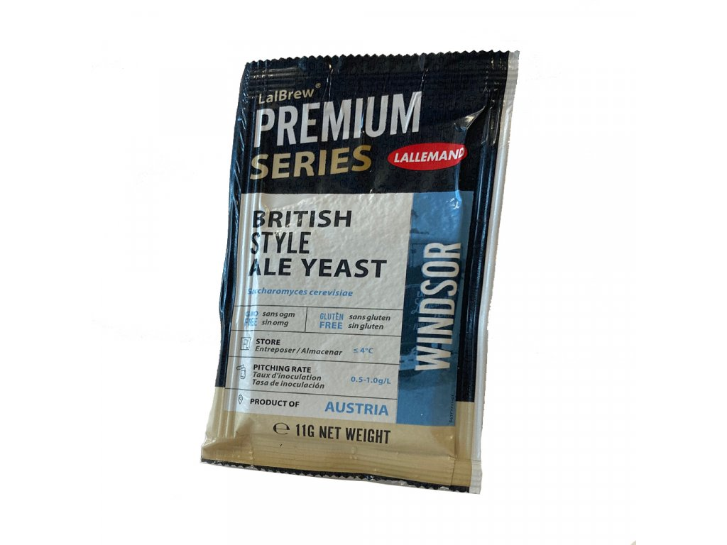 LalBrew® WINDSOR  BRITISH-STYLE ALE YEAST 11g