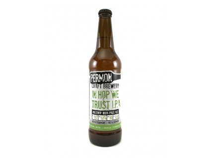 Permon In Hop We Trust IPA 15° 0,5l